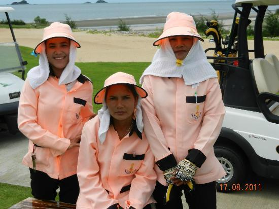 Sea Pines Golf Course: Our caddies
