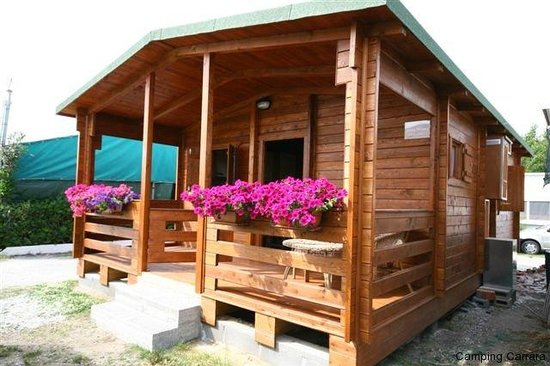 Marina di Carrara, Italien: Un bungalow del camping