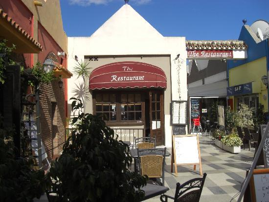 The front of the Restaurant