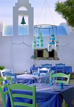 St. Nicolas Bay Resort Hotel & Villas: Kafenion Restaurant and Private Chapel