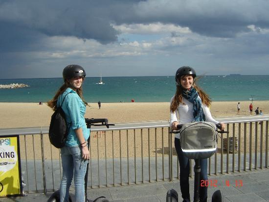"Barcelona Segway Tour: ""Segway Smiles"""