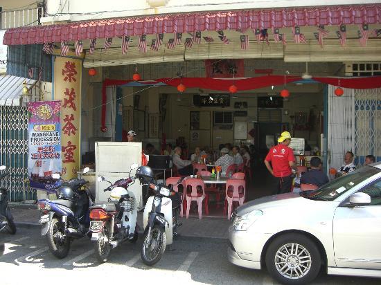 Roof Top Guest House Melaka: GH近くの飲茶食堂