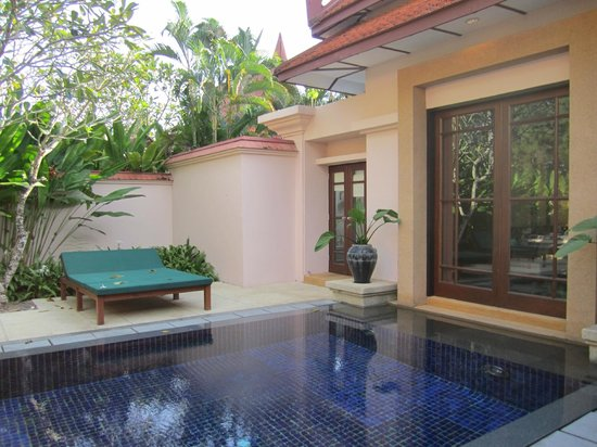 Banyan Tree Phuket : Pool in Double room Villa