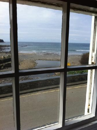 Coombe Barton Inn: View from our table