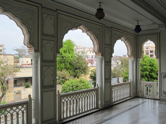 Krishna Palace: Terrace