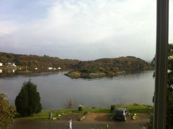 The Moorings: The view from our room