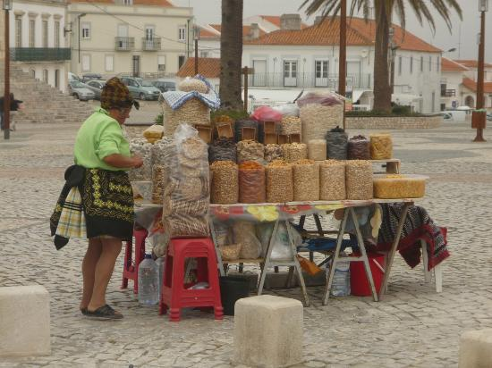 Miramar Hotel & SPA: Dried fruits for sale in Nazare