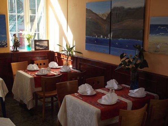 Restaurante Mar y Monte : comedor