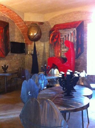 Residenza d'Arte: recepção