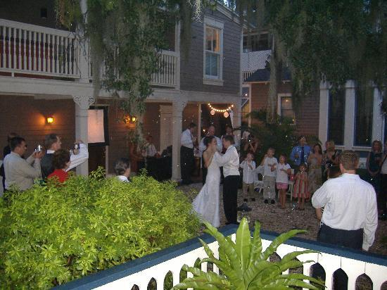 Amelia Island Williams House: My sister's reception