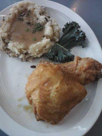 Exit Restaurant: Two piece Broasted Chicken