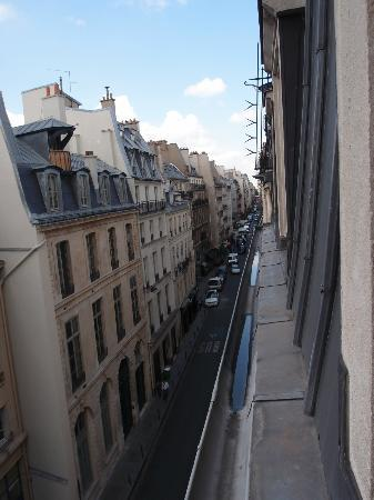 Montpensier: View from window of street