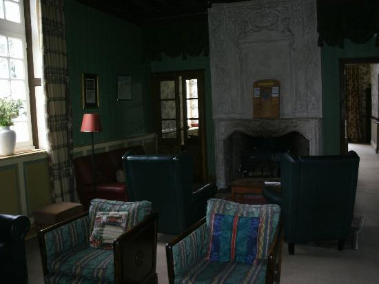 Chateau des Vigiers: salon de l'hotel