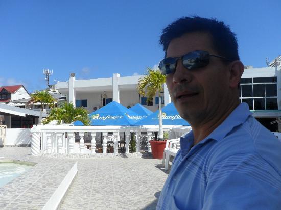 Hotel Portofino: en la piscina