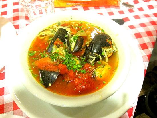 Al Vaporetto: Seafood Soup