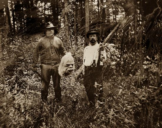 Gibson's Photographic Gallery: 1800's Bigfoot Hunters?
