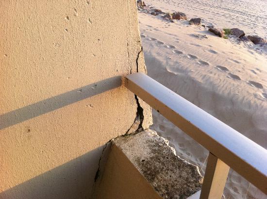 Ibis Le Touquet Thalassa : balkon