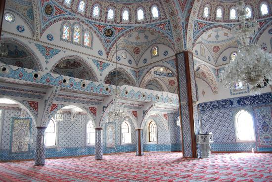 Aphrodite Restaurant: Mosque in Side