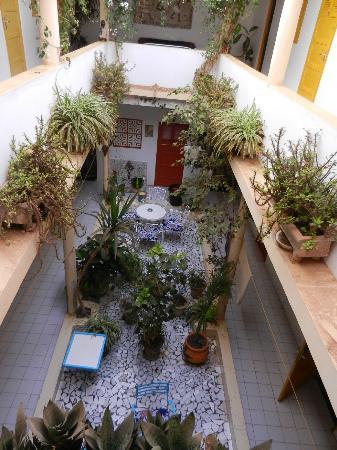 Herberge Keur Diame: Atrium
