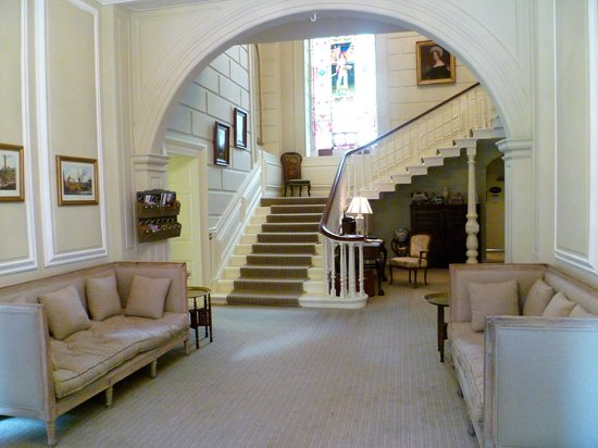 Eshott, UK: Impressive staircase