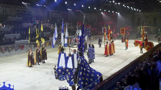 Medieval Times Maryland Castle: Medieval Times- Hanover, MD 2012