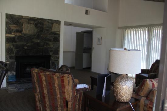 Wyndham Resort at Fairfield Mountains: Living Room