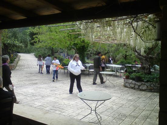 Kalamitsi Hotel : Breakfast area