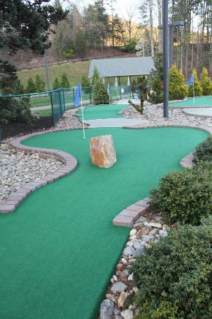Wyndham Resort at Fairfield Mountains: Miniture Golf