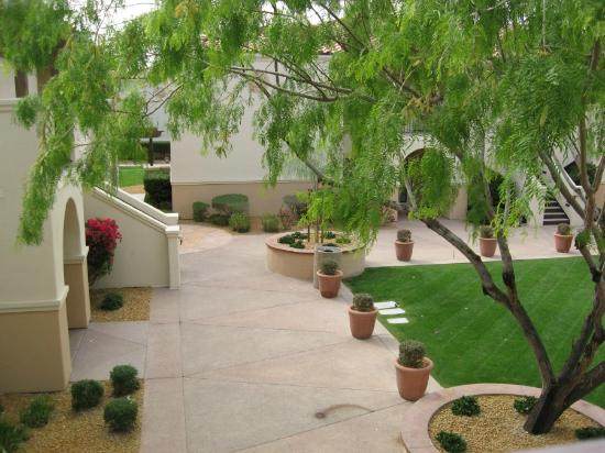Legacy Golf Resort: Courtyard at Casita 6