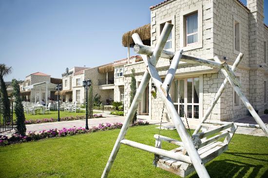Alacati Marina Palace Boutique Hotel: Salıncakta keyif zamanı