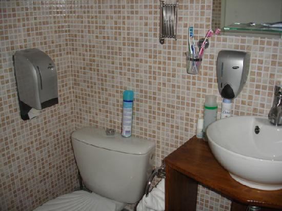 Hotel de France Maguy: chbre alizée WC dans SDB