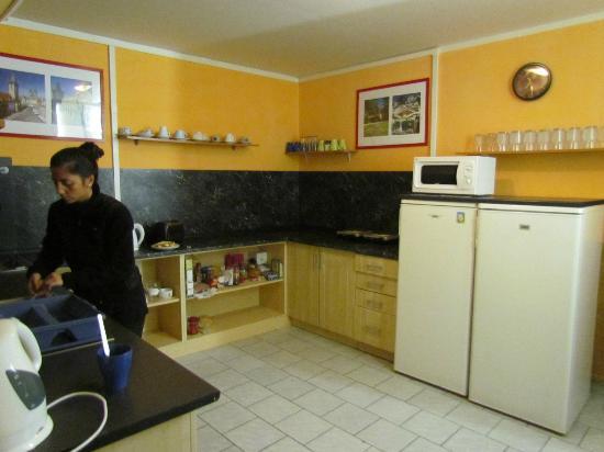 Prague Tyn: la cocina
