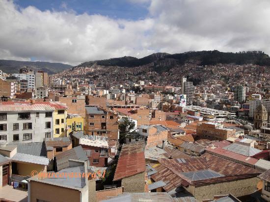 Hotel Condeza: La Paz panorama