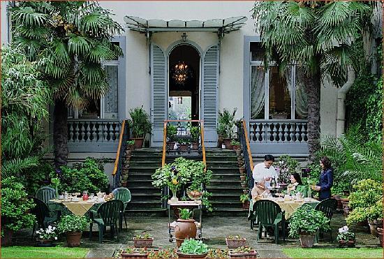 Principe Hotel: Italian garden