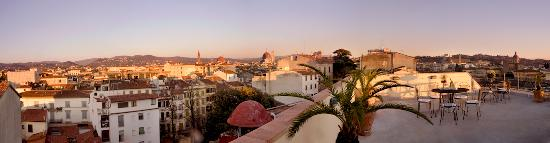 Principe Hotel: Panoramic view from roof terrace