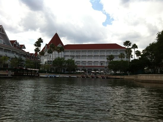 Disney's Grand Floridian Resort & Spa: the boat dock...