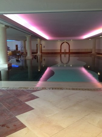 Pennyhill Park, an Exclusive Hotel & Spa: Best Spa in UK & EU...roman pool