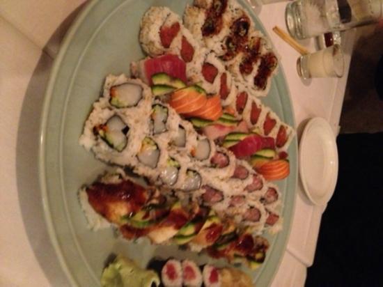 Taka Restaurant: Sushi rolls
