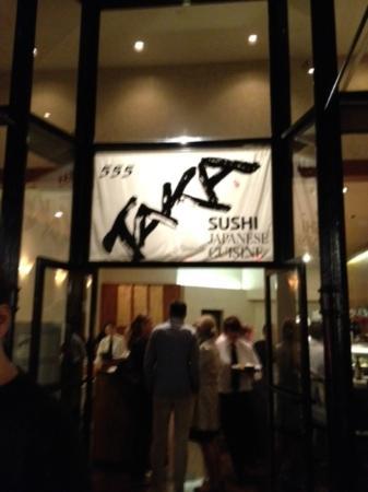 Taka Restaurant: Taka storefront