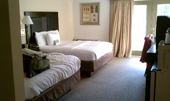 Stadium Inn : Huge rooms,  such potential,  too bad about the nasty carpet