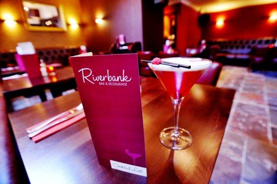 Riverbank Bar and Restaurant : Cocktails at Riverbank