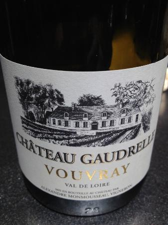 Chateau Gaudrelle, Vins de Vouvray: The wine!