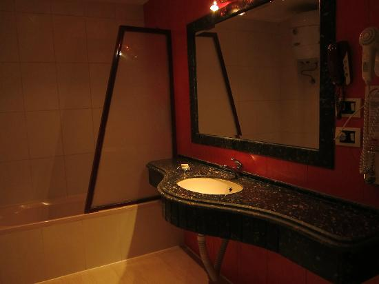 Zayed Hotel: Bath room.