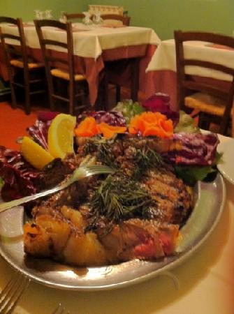 Osteria del Castagno: tagliata al rosmarino
