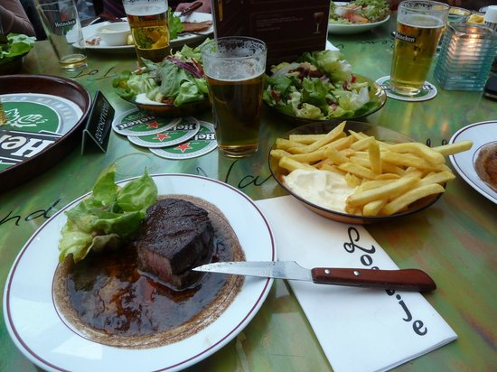 Cafe Loetje: The best steak in Amsterdam