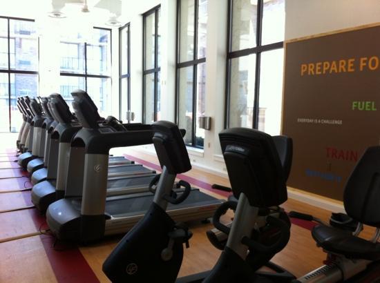 Sheraton Milwaukee Brookfield Hotel: State of the Art Cardio Room