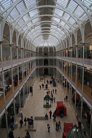 Museo Nacional de Escocia: the Main Hall