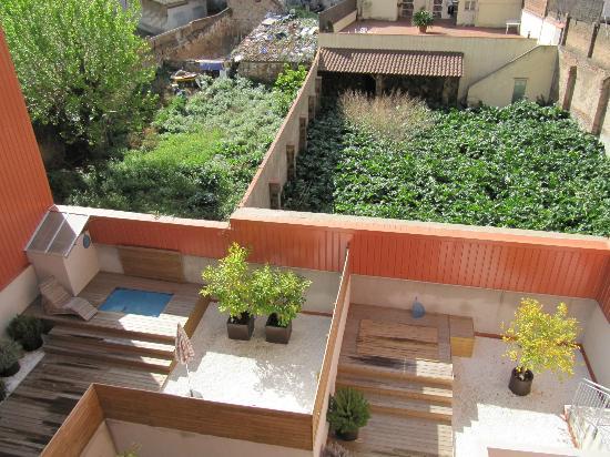 Vivobarcelona Apartments: vista dal terrazzino