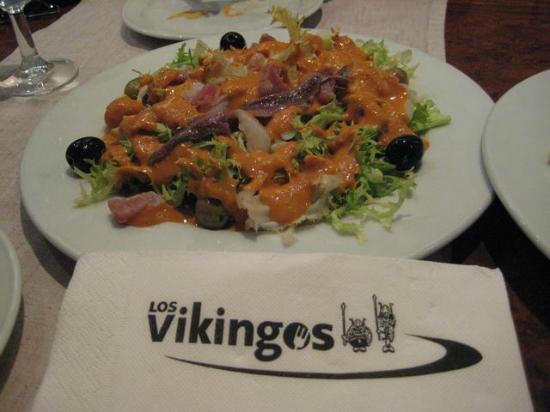 Los Vikingos: otro plato de la excelente carta