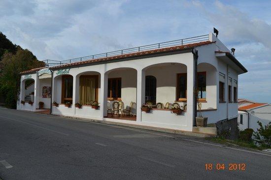 Chiessi, Italien: Struttura principale hotel